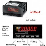 Omron K3MA-F Frequency Meter